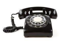 черный телефон стоковое изображение rf