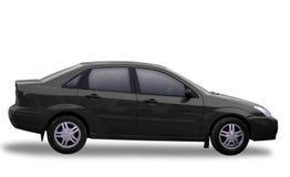 черный Тойота Стоковые Фото