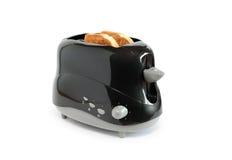 черный тостер Стоковое Изображение