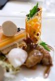 черный трюфель mousse crayfish Стоковое Фото