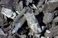 Черный уголь Стоковое Изображение RF