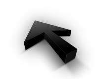 черный указатель Стоковое фото RF