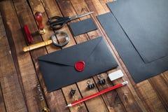 Черный фирменный стиль Стоковое фото RF