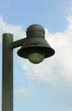Черный фонарик в парке стоковое фото rf