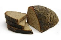 черный хлеб Стоковые Фото