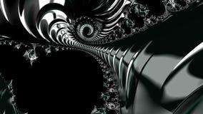 Черный хром Стоковые Фотографии RF