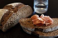 Черный хлеб Стоковое Изображение RF