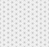 Черный цветок плана картины геометрии жизни священной иллюстрация штока