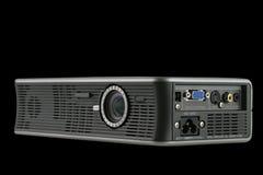 черный цифровой изолированный репроектор Стоковое фото RF