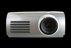 черный цифровой изолированный репроектор Стоковая Фотография