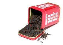 Черный чай английского завтрака Стоковое Изображение