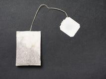 Черный чай стоковая фотография rf