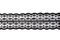 черный чувствительный шнурок Стоковые Фотографии RF