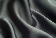 черный шелк Стоковые Изображения RF