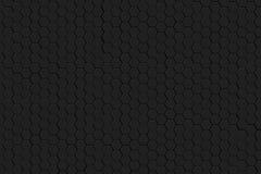Черный шестиугольник Стоковые Фото