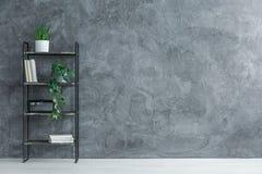 Черный шкаф металла Стоковые Изображения