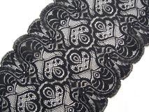 черный шнурок Стоковые Фотографии RF
