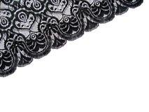 черный шнурок Стоковая Фотография RF