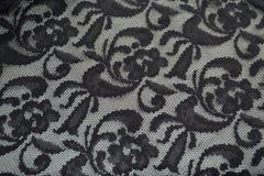 черный шнурок Стоковое Фото