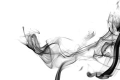 черный дым Стоковые Изображения