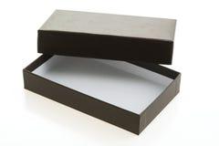 черный ящик пустой Стоковое Фото
