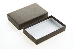 черный ящик пустой Стоковое Изображение RF