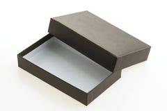 черный ящик пустой Стоковая Фотография