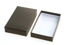 черный ящик пустой Стоковое фото RF