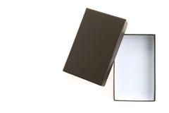 черный ящик пустой Стоковые Фото