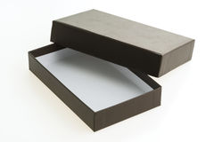 черный ящик пустой Стоковые Фотографии RF