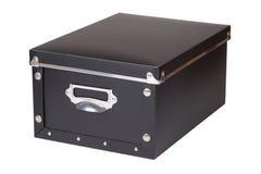 Черный ящик для хранения Стоковые Фото