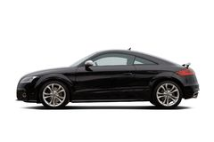 черный coupe стоковая фотография