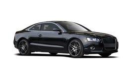 Черный coupe Audi A5 стоковая фотография