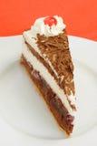 черный gateau пущи торта Стоковые Изображения RF