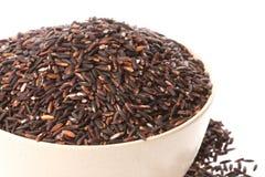 черный glutinous изолированный рис стоковое фото rf