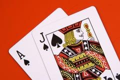 черный jack Стоковая Фотография