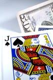 черный jack Стоковая Фотография RF