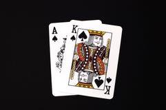черный jack Стоковое Изображение