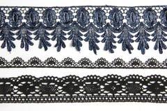 Черный lacework Стоковая Фотография RF