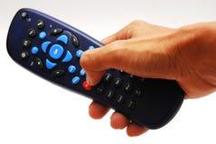 черный remote управления Стоковое Изображение RF