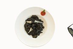 черный risotto Стоковые Изображения
