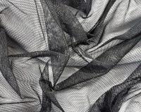 черный rumpled шнурок Стоковое Изображение