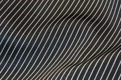 черный striped шелк Стоковые Изображения RF