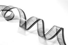 черным белизна пленки 3 переплетенная кино Стоковое Фото