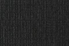 Черным бумага текстурированная макросом Стоковые Изображения
