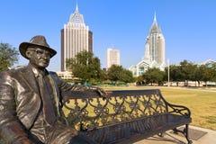 чернь Алабамы к центру города Стоковое Изображение RF