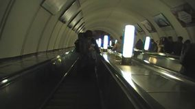 Чернь в метро Москвы акции видеоматериалы