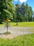 Чернь гольфа диска Стоковые Изображения