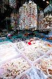 Чернь и жемчуг Seashell Стоковое Изображение