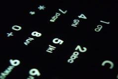 чернь клавиатуры Стоковое фото RF
